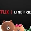 .​LINE character brand collaborates with Netflix to create original animation series.