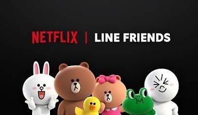 LINE character brand collaborates with Netflix to create original animation series