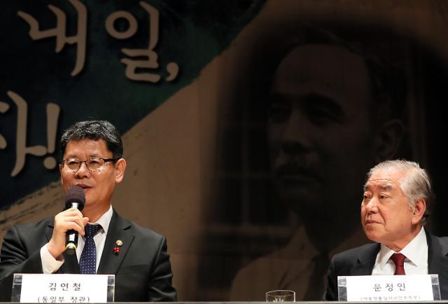 """문정인 """"美, 비핵화협상 안되면 韓변수도 있다는 점 알아야"""""""