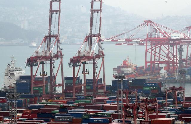 韩11月出口物价指数同比下降1.8%