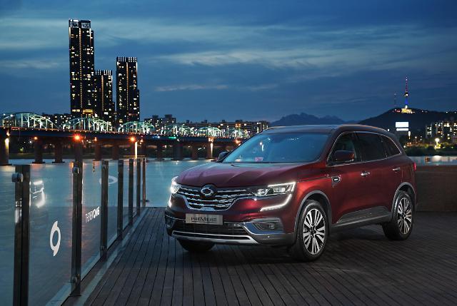 QM6, 5개월 연속 국산 중형 SUV 판매 2위