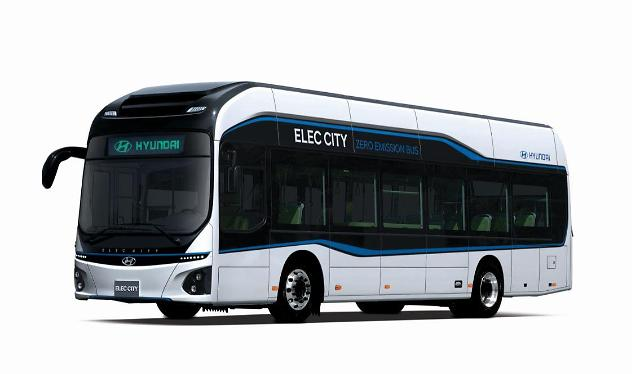 현대차 전기버스 일렉시티 장관상···8년 연구 결실