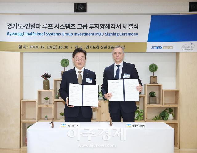 경기도, 자율주행 및 태양광 선루프 기술 보유 해외기업 투자유치