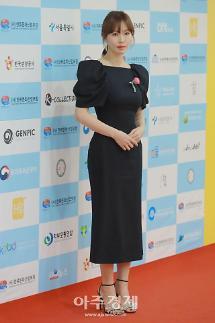 [포토] 김소연, '우아한 블랙 드레스' (대한민국한류대상)