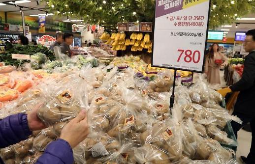[포토] 백종원이 부탁한 못난이 감자 이마트에 등장