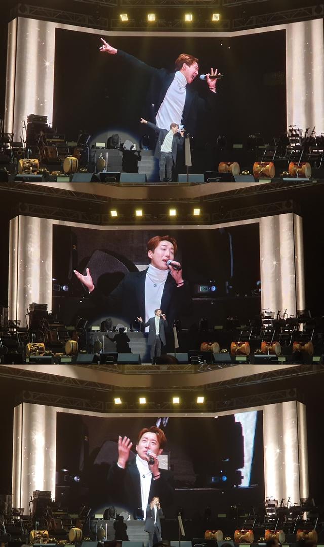 '미스트롯' 김경현, 송가인 '엄마 아리랑'으로 인천 콘서트 포문 '현장 물들인 록 스피릿'