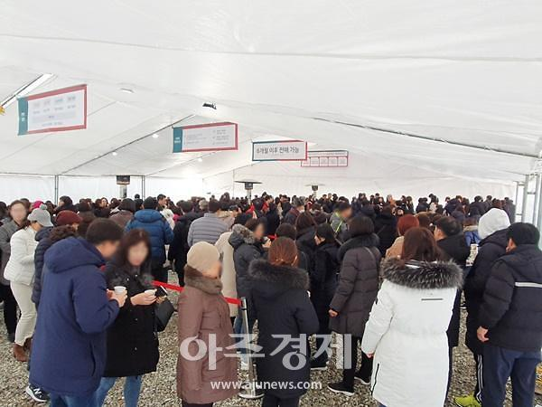 """[르포]수원역 원도심 재개발 분양 본격화…""""빨리 들어갈수록 웃돈↑"""""""