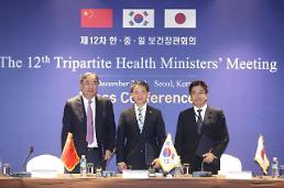 .韩中日卫生部长会议发表联合宣言加强医疗合作.