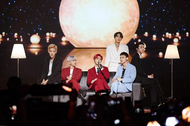 엑소, 말레이시아 콘서트 성료…1만 관객 열광