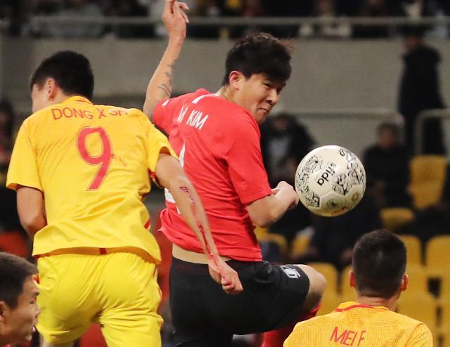 [포토] 한국, 중국 1-0 격파 일본과 최종전