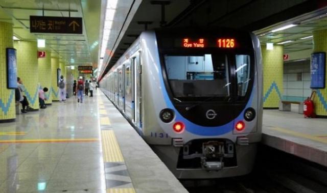 인천지하철 1호선,화재오인으로 1시간여 간 운행중단 돼