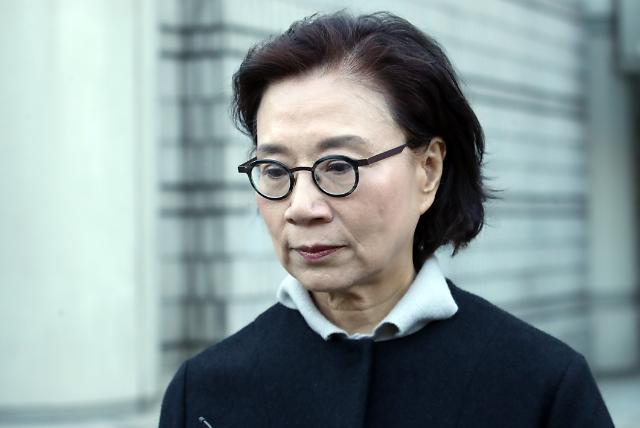 사모펀드 키맨 조모씨, 운전기사 폭행 혐의 이명희 오늘 첫 재판