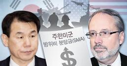 .韩美第11份防卫费分担协定第五轮谈判在首尔进行.