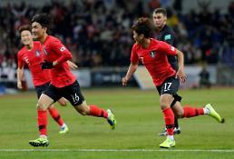 .韩国男足1比0胜日本实现东亚杯三连冠.