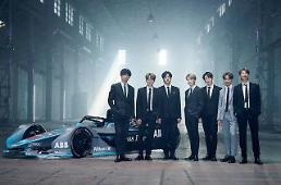 ​BTS becomes global ambassador for Formula E championship
