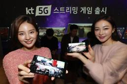 .KT jumps into race to provide 5G cloud game service.