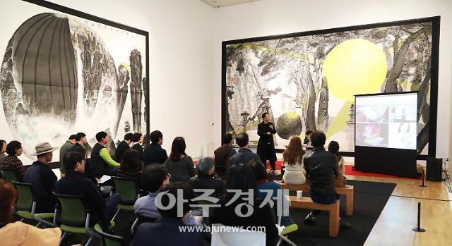 경주엑스포 솔거미술관, 관람객 작년보다 2배...13만여 명 유치