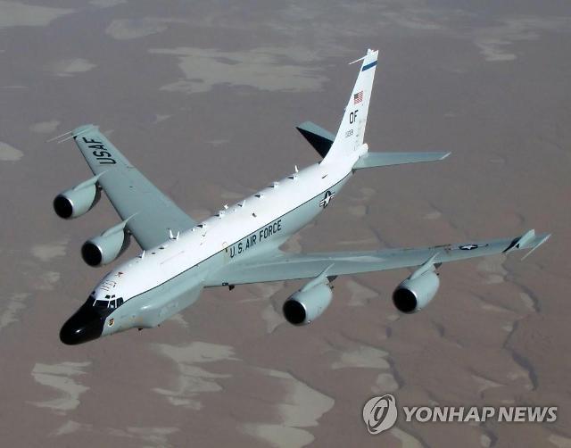 북한 ICBM 동향 파악 리벳조인트 3일 연속 한반도 비행