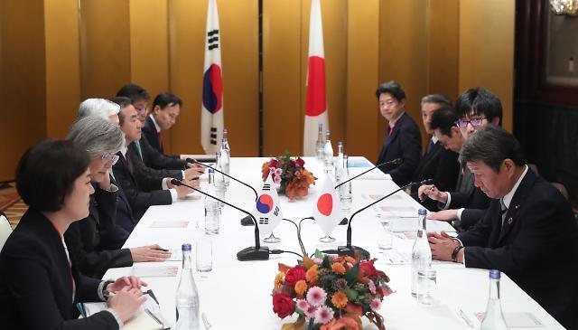 강경화·모테기, 24일 중국 청두서 한·일 외교장관회담