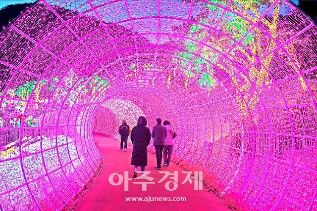 [문화리뷰] 겨울밤이 아름다운 '광양 느랭이골 빛축제