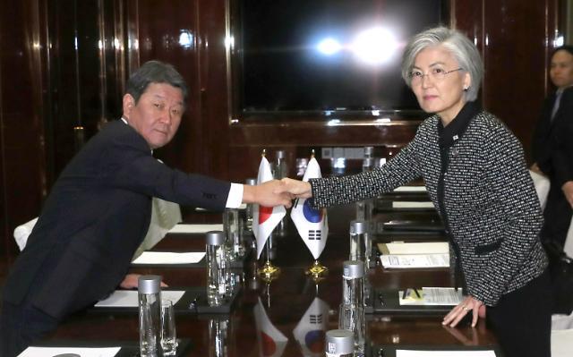 [한중일 정상회의] 한일 외교장관 수출규제·강제동원 두고 신경전 팽팽