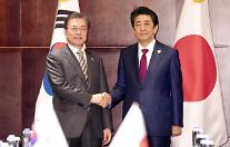 安倍首相、韓日首脳会談で「両国の関係を改善したい」