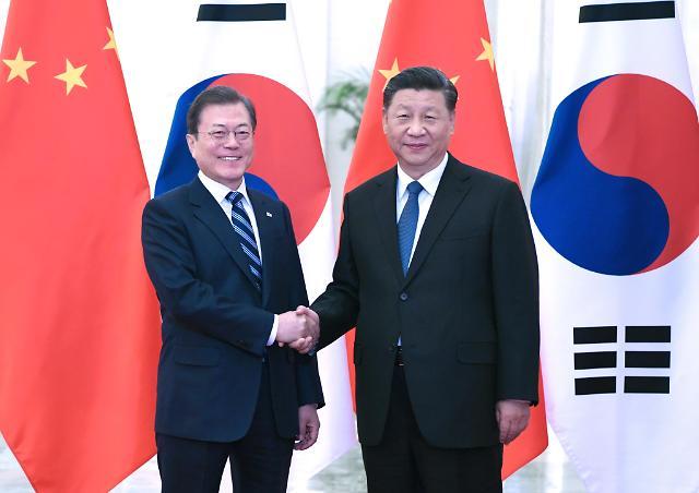 문재인 대통령, 中·日 연쇄 정상회담 마치고 서울로 출발