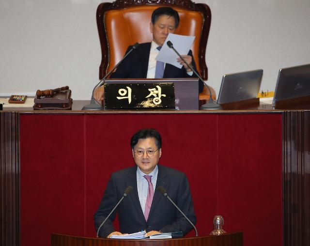 성탄절에도 이어진 필리버스터...홍익표 檢비판 박대출 5시간 50분 최장 토론