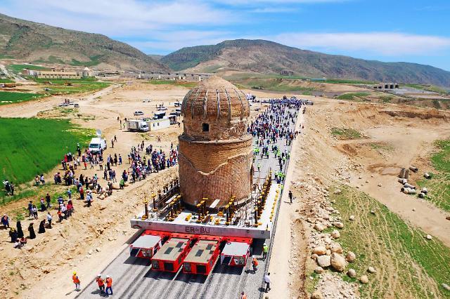 CJ대한통운, 터키 고대유적 23개 통운송 성공