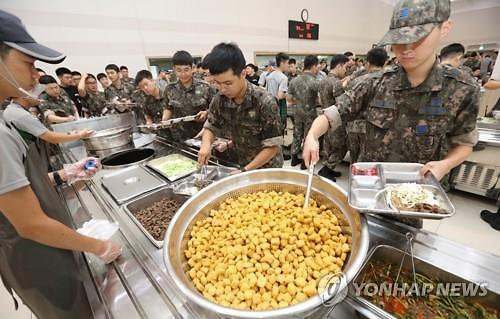 軍 급식에 빅데이터 도입... 꼬막 비빔밥·벌꿀·바닷장어 新메뉴 추가