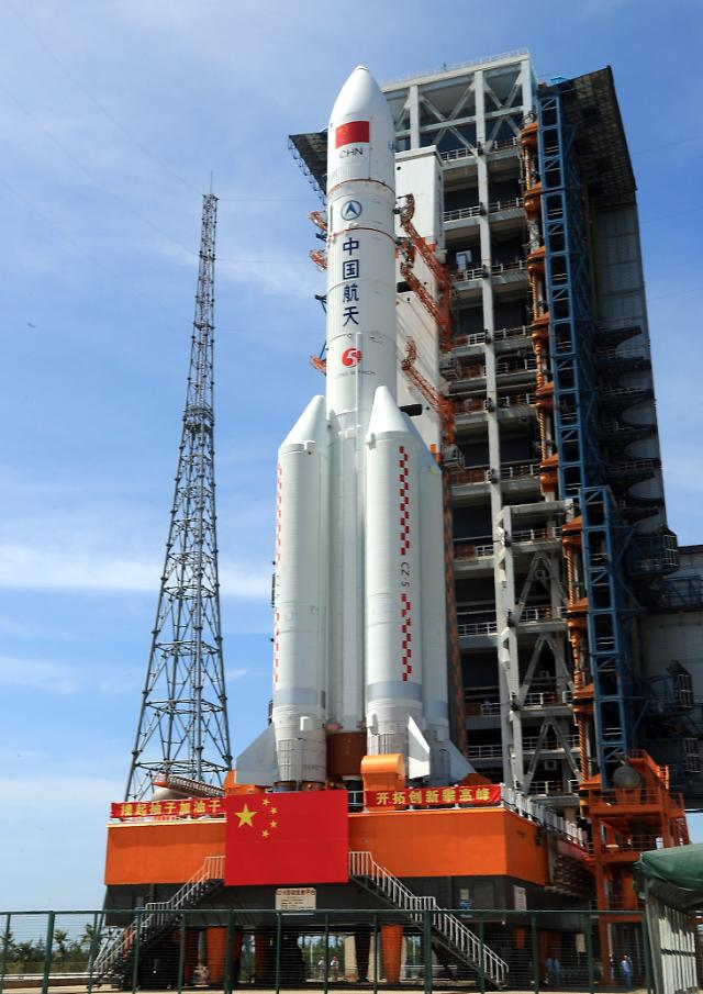 중국 차세대 대형 운반로켓 창정 5호, 연말 발사 예정