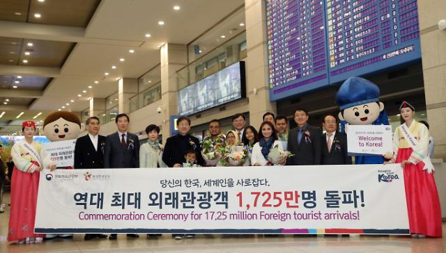 文在寅:争取明年访韩外国游客破2000万