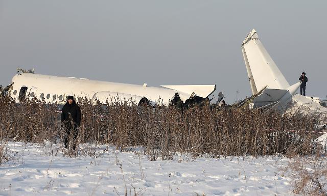 카자흐스탄서 항공기 추락사고...사망자 계속 늘어날 듯