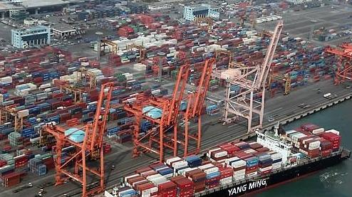 2018年韩国对外出口近七成依赖大企业