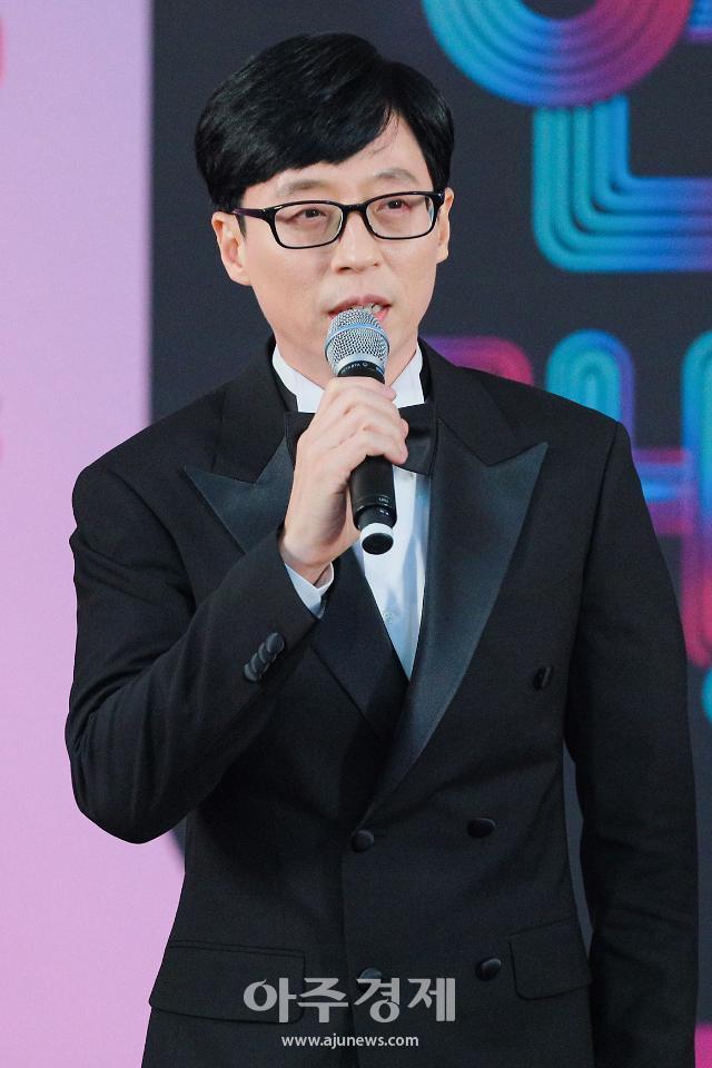 "[2019 SBS 연예대상] 유재석 ""故 구하라·설리, 하고 싶은 일 맘껏 하길"""