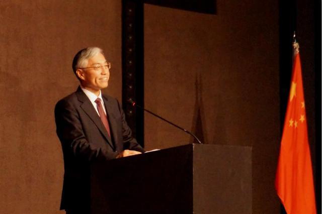 中国驻韩国大使邱国洪离任招待会在首尔举行