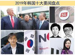 .2019年韩国十大要闻盘点.