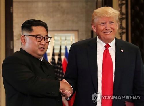 """김정은 新 전략무기·정면돌파 예고…트럼프 """"김정은 약속 지키는 사람"""""""