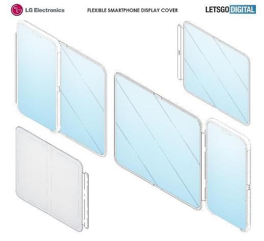LG电子柔性屏手机套专利曝光