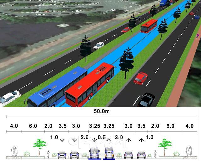 창원시, 고급 간선급행버스체계(BRT) 국토부 시범사업에 선정