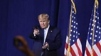 """트럼프 """"이란이 보복하면 52곳에 반격"""" 강력 경고"""