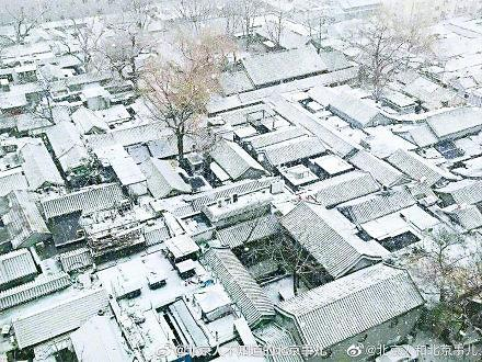 [중국포토] 새해부터 폭설…베이징 항공편 100여편 결항