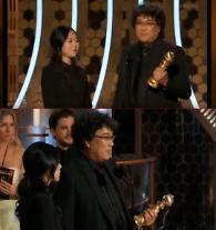 ポン・ジュノ監督の「パラサイト」、韓国映画初のゴールデングローブ外国語映画賞受賞