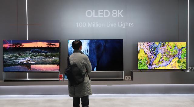 [슬라이드 화보] CES 2020 현장, 이것이 LG OLED 8K