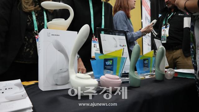 [포토] CES 2020 현장, 시선잡는 성인용품