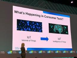 .[CES 2020] CTA presents intelligence of things as this years top technology trend.