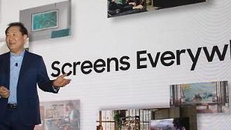 [CES 2020] Samsung giới thiệu ti vi có màn hình sử dụng công nghệ MicroLED