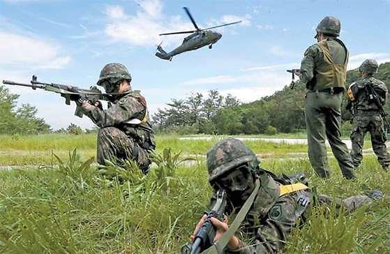 軍, 北도발 대비 통합상황조치훈련 돌입... 주한미군 테러 상황 고려