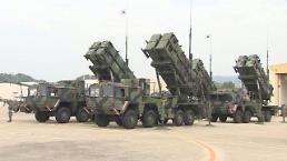 .消息:韩军在青瓦台附近部署爱国者防空导弹.