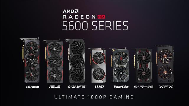 [CES 2020] AMD, 라데온 RX5600 시리즈 그래픽 제품 공개